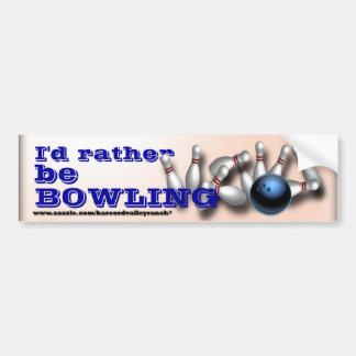 Adhésifs pour pare-chocs faits sur commande de bow autocollants pour voiture