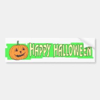 Adhésifs pour pare-chocs heureux de Halloween Autocollant De Voiture