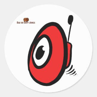 Adhesive BOT Round Sticker