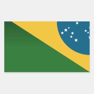 Adhesive Brazil Series - Flag Sticker