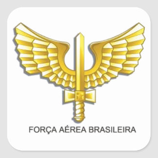 Adhesive Brazilian Air Force - BAF Square Sticker