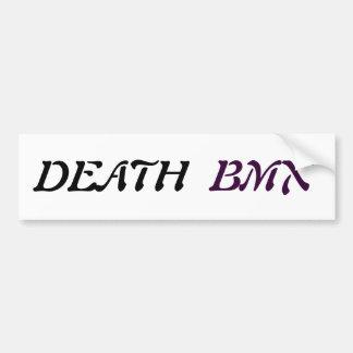 Adhesive Death Bmx Bumper Sticker