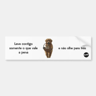 Adhesive for Cars Bumper Sticker