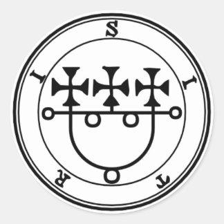 Adhesive Sitri Goétia Classic Round Sticker