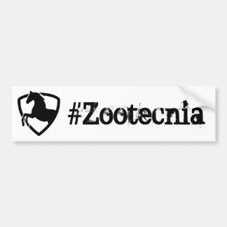 Adhesive Zootecnia Bumper Sticker