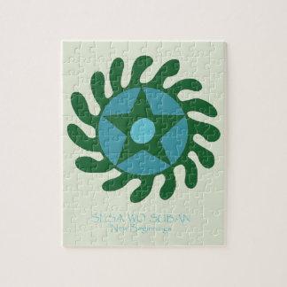 Adinkra Sesa Wo Suban - New Beginnings Jigsaw Puzzle