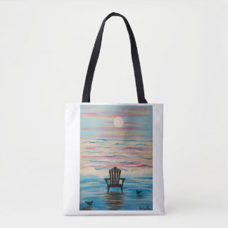 Adirondack Beach Chair Tote Bag