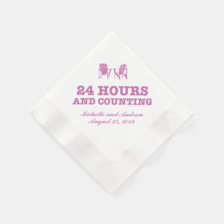 Adirondack Chairs | 24 Hours and Counting Paper Napkins