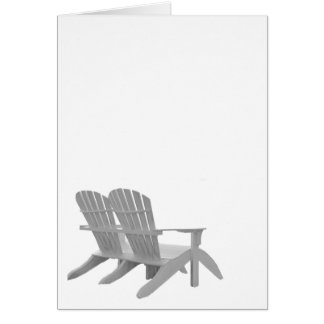 Adirondack Chairs Card