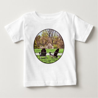 Adirondack Chairs In Spring Baby T-Shirt