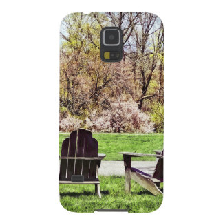 Adirondack Chairs In Spring Case For Galaxy S5