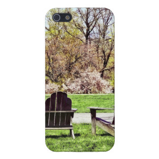 Adirondack Chairs In Spring Case For iPhone 5/5S