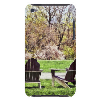 Adirondack Chairs In Spring Case-Mate iPod Touch Case