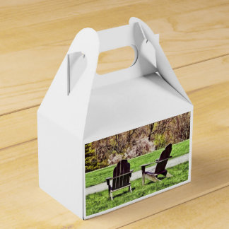 Adirondack Chairs In Spring Favor Box