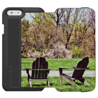 Adirondack Chairs In Spring Incipio Watson™ iPhone 6 Wallet Case