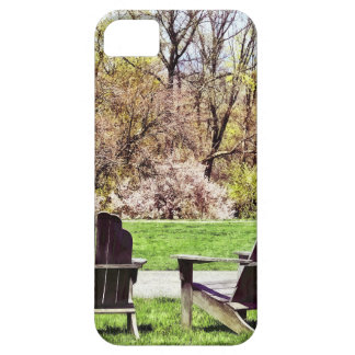 Adirondack Chairs In Spring iPhone 5 Cases