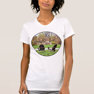 Adirondack Chairs In Spring T-Shirt