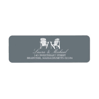 Adirondack Chairs | Return Address Return Address Label
