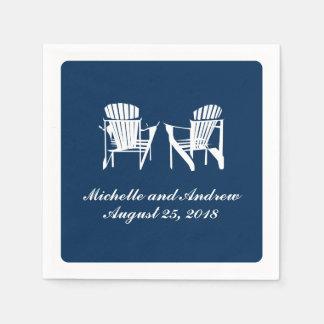 Adirondack Chairs | Wedding Disposable Napkins