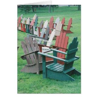 Adirondack Conversations Card