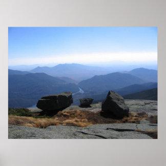 Adirondack High Peaks - Algonquin Summit Poster
