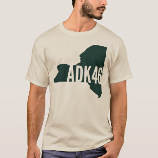 Adirondack High Peaks List Long Sleeve T-Shirt