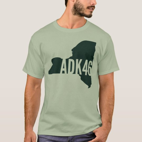 Adirondack High Peaks List T-Shirt