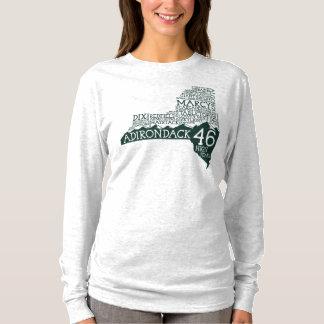 Adirondack High Peaks Women's Long Sleeve T-Shirt