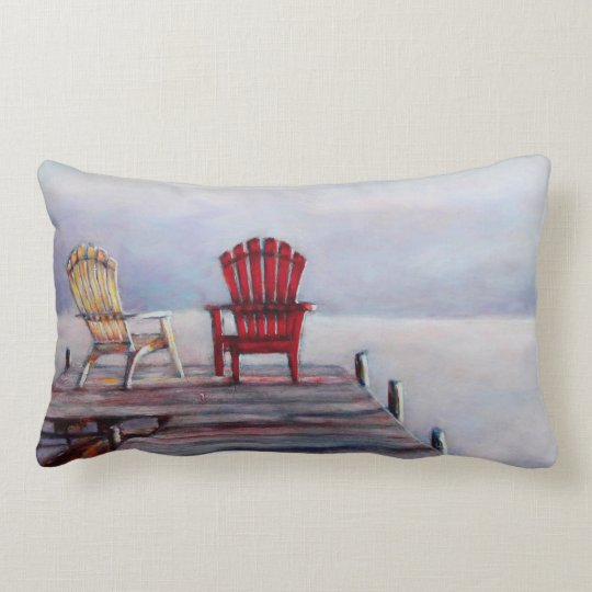 Adirondack Morning Lumbar Pillow