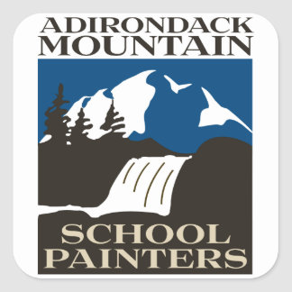Adirondack Mountain School Painters Sticker
