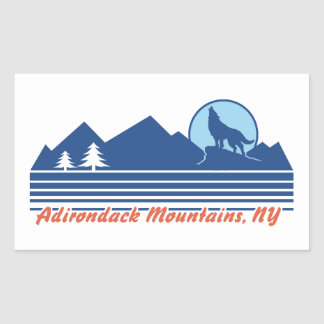 Adirondack Mountains NY Sticker
