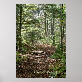 Adirondack Path Poster