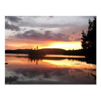 Adirondack Sunset Postcard