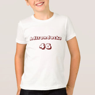 Adirondacks 46 Kid's Ringer T-Shirt