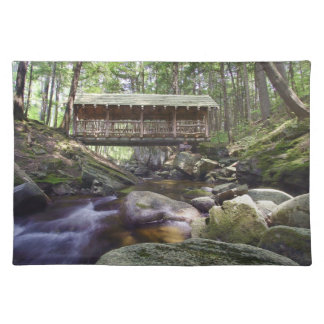 Adirondacks Covered Bridge Placement Placemat
