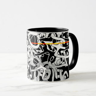 Adjacent Ball of Confusion Mug