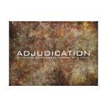Adjudication Stretched Canvas Prints