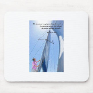 Adjust the sails mouse pad
