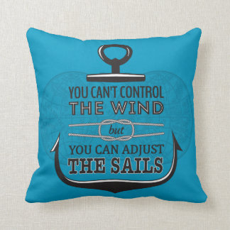 Adjust the sails pillow