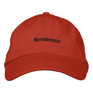 Adjustable cap by sircodemain embroidered baseball caps