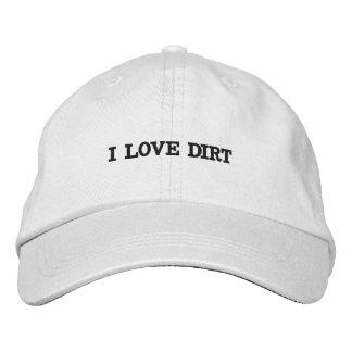 Adjustable hat embroidered hat