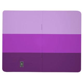 Adjustable Striped Green Pocket Journal