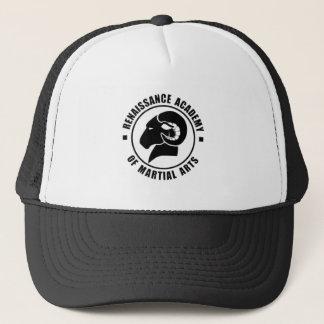 Adjustable Trucker Cap, Black RAM Logo Trucker Hat
