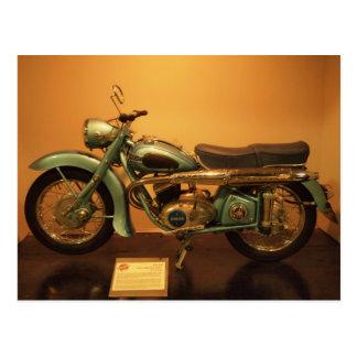 Adler 1953 Motocycle Postcard