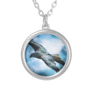adler silver plated necklace