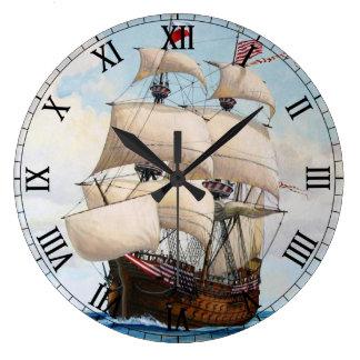 Adler von Lübeck Ship - Custom Clock