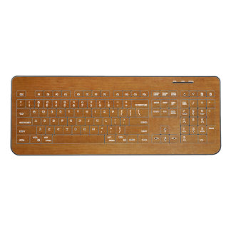 Adler Wood Wireless Keyboard