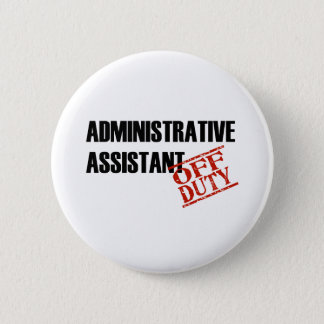 Admin Assist Light 2 Inch Round Button