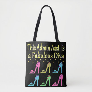 ADMIN ASST SHOE LOVER DESIGN TOTE BAG