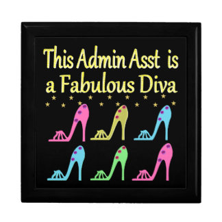 ADMIN ASST SHOE LOVER DESIGN TRINKET BOXES